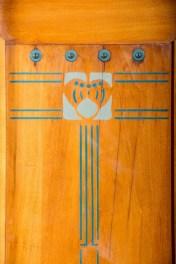 Design Luminy Armoir-Silex-1905-détail Gustave Serrurier-Bovy (1858-1910) – Mobilier Silex Histoire du design Icônes Références  Silex Gustave Serrurier-Bovy Art Nouveau
