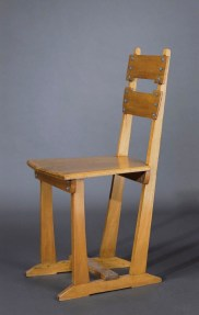 Design Luminy Chaise-Silex-1905-01 Gustave Serrurier-Bovy (1858-1910) – Mobilier Silex Histoire du design Icônes Références  Silex Gustave Serrurier-Bovy Art Nouveau