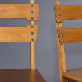 Design Luminy Chaise-Silex-1905-détail Gustave Serrurier-Bovy (1858-1910) – Mobilier Silex Histoire du design Icônes Références  Silex Gustave Serrurier-Bovy Art Nouveau
