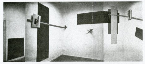 Design Luminy El_Lissitzky_PROUN_Room_1923 Proun Raum (1923) - El Lissitzky (1890-1941) Histoire du design Références  Proun Raum Proun El Lissitsky Constructivisme