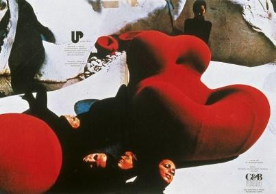 Design Luminy Up-Gaetano-Pesce-1969-17 Donna 1939 – Gaetano Pesce (1939-) Histoire du design Icônes Références  Up Pop Gaetano Pesce   Design Marseille Enseignement Luminy Master Licence DNAP+Design DNA+Design DNSEP+Design Beaux-arts