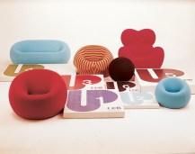 Design Luminy Up-Gaetano-Pesce-1969-4 Donna 1939 – Gaetano Pesce (1939-) Histoire du design Icônes Références  Up Pop Gaetano Pesce