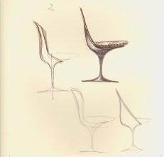 Design Luminy chaise-tulipe-saarinen-dessin1_21025147384_o Chaise Tulipe 1956 – Eero Saarinen (1910-1961) Histoire du design Icônes Références  Tulipe Knoll Eero Saarinen