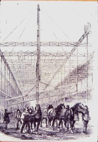 Design Luminy construction02_21304322600_o Crystal Palace 1851 - Joseph Paxton (1803-1865) Histoire du design Icônes Références  Owen Jones Joseph Paxton Henry Cole Exposition universelle Crystal Palace
