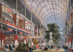 Design Luminy crystal-palace-intrieur_21355988305_o Crystal Palace 1851 - Joseph Paxton (1803-1865) Histoire du design Icônes Références  Owen Jones Joseph Paxton Henry Cole Exposition universelle Crystal Palace