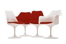 Design Luminy serie-tulipe-saarinen7_21647759125_o Chaise Tulipe 1956 – Eero Saarinen (1910-1961) Histoire du design Icônes Références  Tulipe Knoll Eero Saarinen
