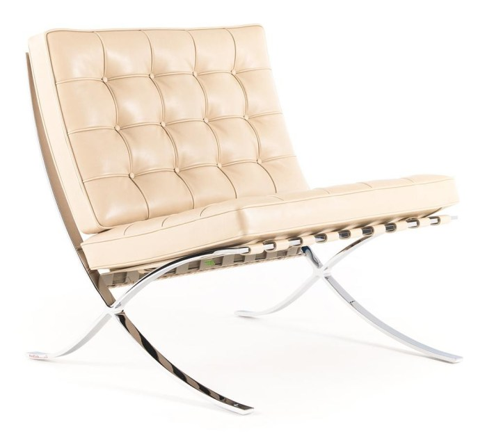 Design Luminy knoll-barcelona-chair-relax-01_zoom Fauteuil Barcelona 1929 – Mies van der Rohe & Lilly Reich Histoire du design Icônes Références  Mies van der Rohe Lilly Reich Fauteuil Barcelona