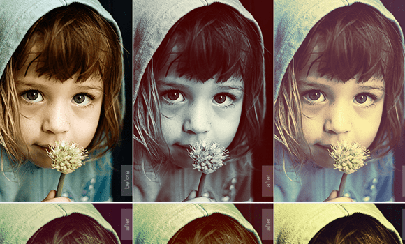 variety pack freebie actions photoshop designers