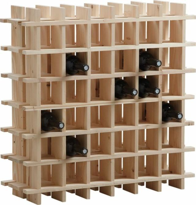 fabriquer casier bouteille bois