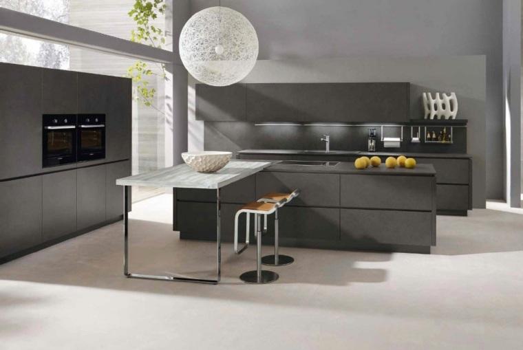 cuisine grise profitez espace moderne
