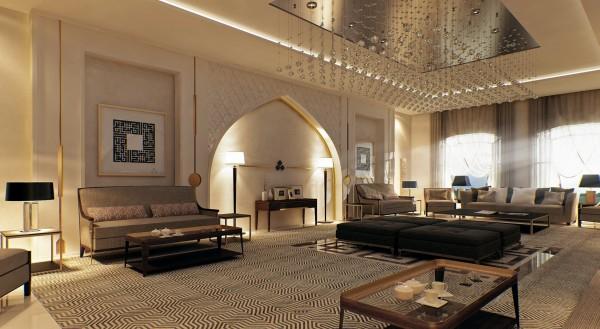 Une Maison Magnifique En Style Marocain Au Quatar