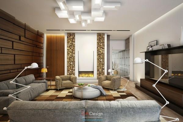 interieur maison moderne petite