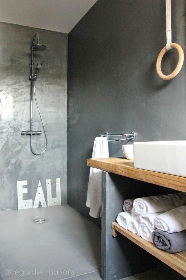 meuble salle de bain bois 35 photos