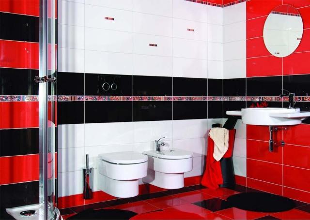 Perfect Ides Carrelage Salle De Bains De Couleur Blanche