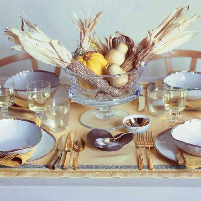 Decoration Table Automne Ides Bricolage Automne