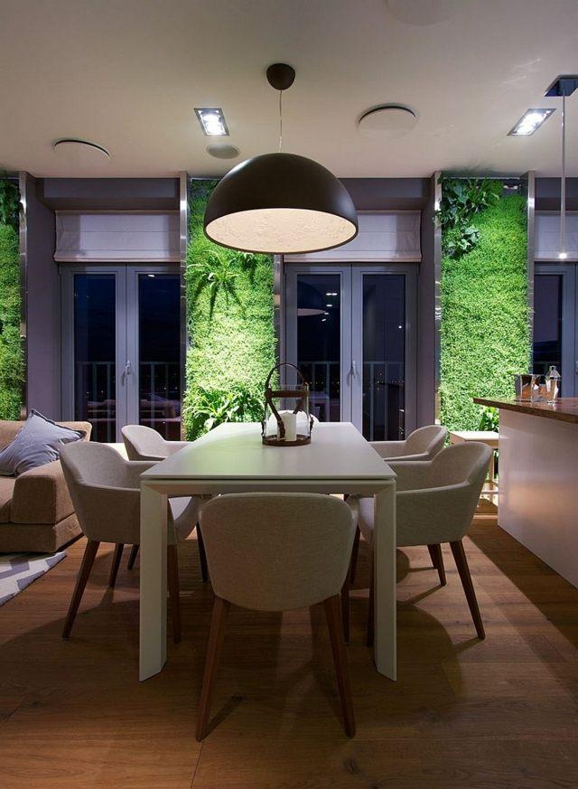 Un Appartement Luxueux Avec Des Jardins Verticaux