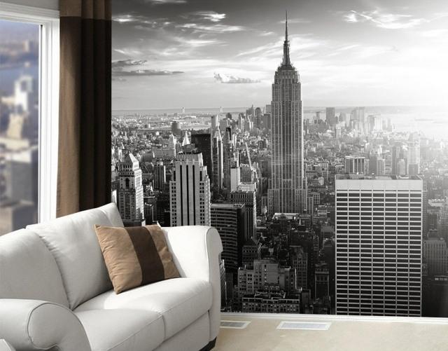 Papier Peint New York Pour Un Intrieur Moderne Et Original