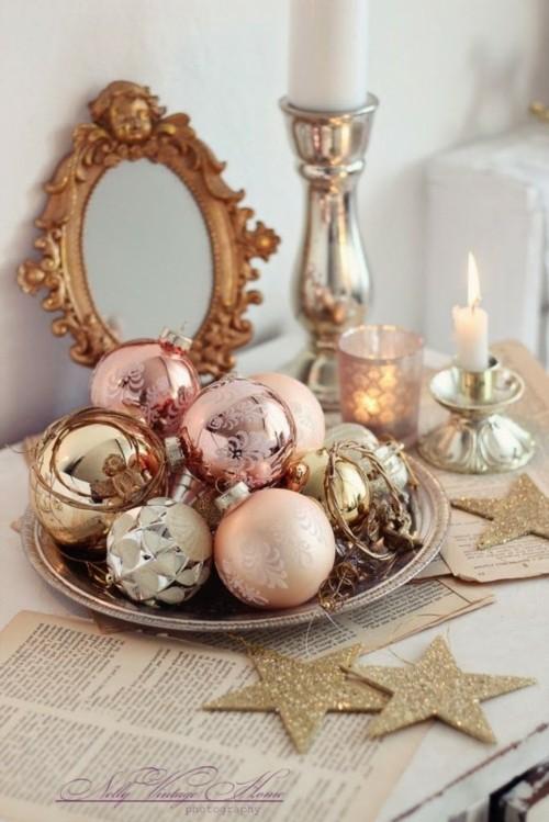 Dcoration Pastel Pour Nol 23 Ides Lgantes