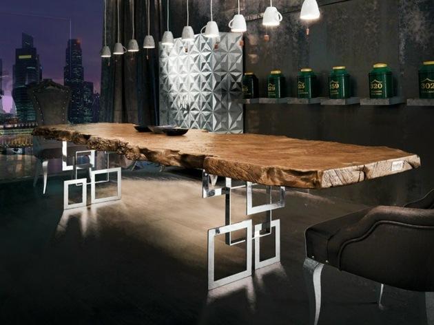 belle table salle a manger moderne