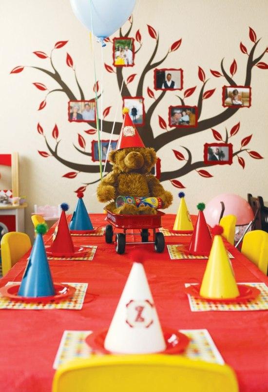 Dcoration Table Anniversaire Pour La Fte De Votre Enfant