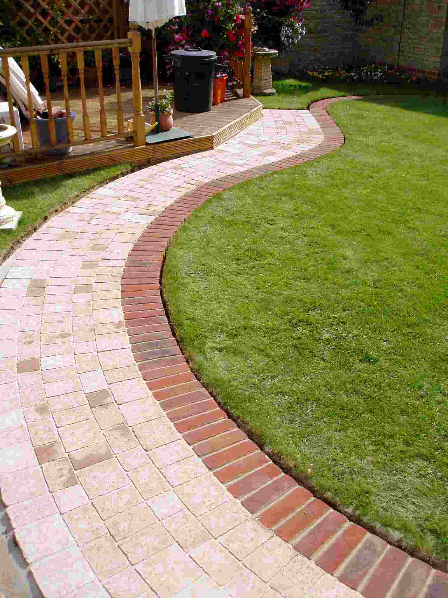 bordure de jardin preparez vos jardins