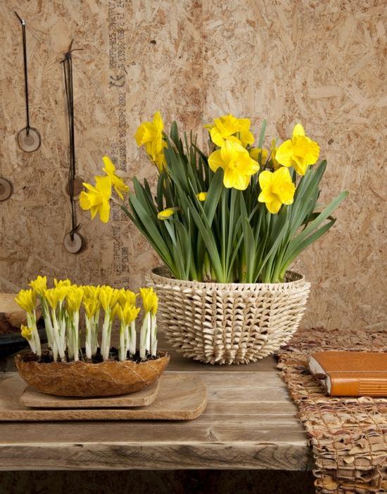 deco style rustique printemps