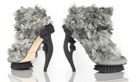 mode design 2014 2015 chaussures tendances radevich créatrice chaussure matériaux naturel