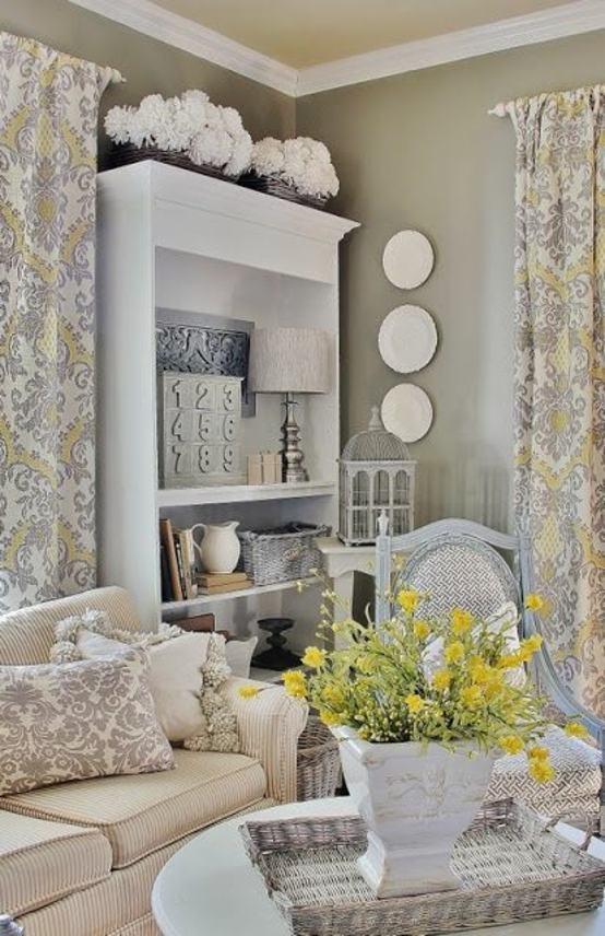 Salon Design En Style Rustique En 24 Id 233 Es