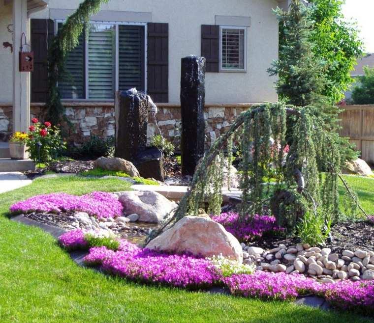 paysager devant maison