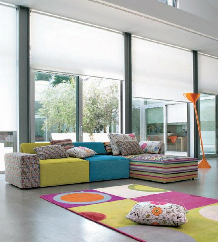 idee comment associer les couleurs dans le salon