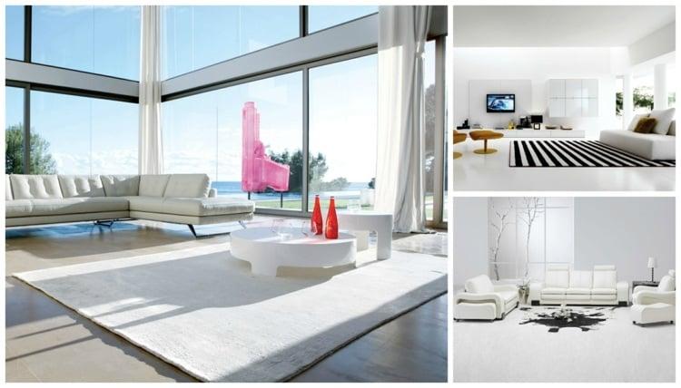 decoration interieur salon blanc 48