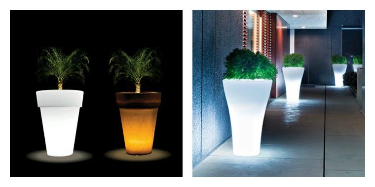 Pot De Fleur Lumineux Invitez La Lumire Dans Vos Maisons