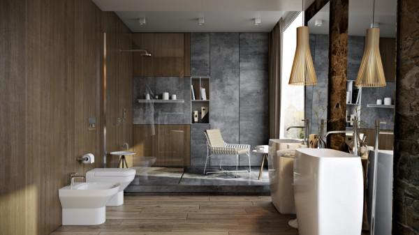 salle de bain de luxe quatre exemples