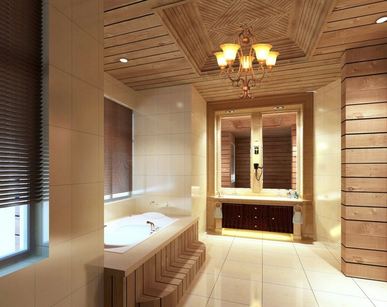 salle de bain en bois en plus de 50 idees