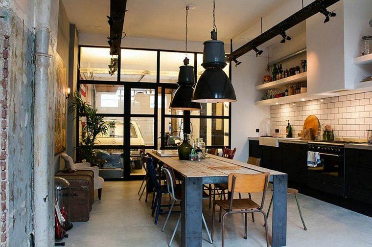 cuisine style industriel elegance