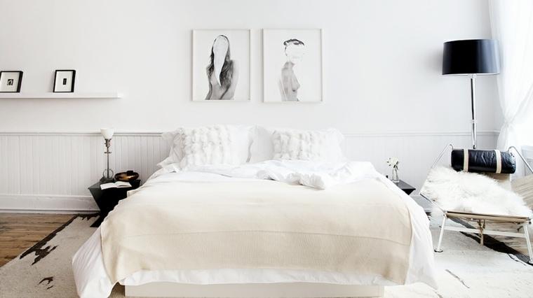 Ide Dco Chambre Adulte 100 Suggestions En Blanc