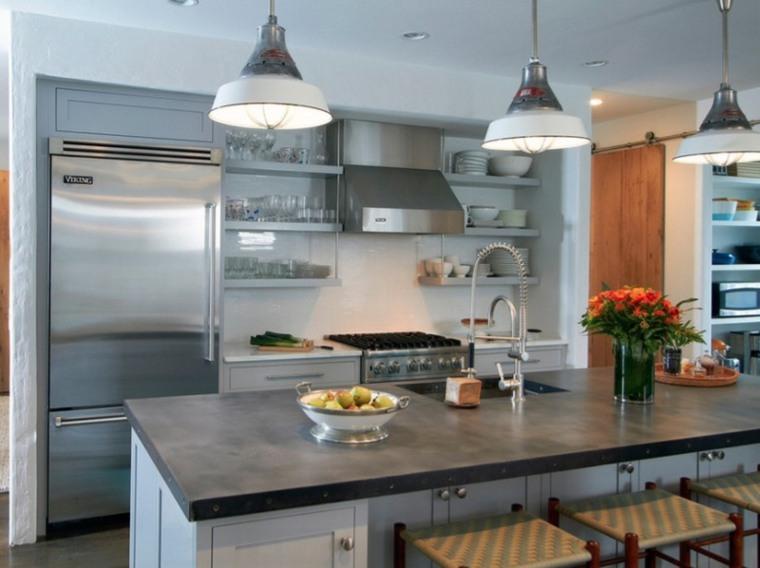 Comptoir de cuisine en 31 idées design on Modern:0Bjn4Cem9Be= Kitchen Counter  id=66104