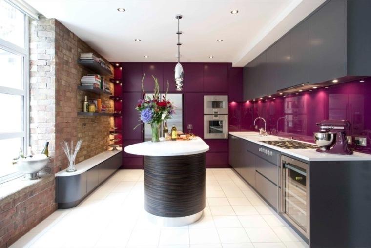 Cuisine Couleur Aubergine Inspirations Violettes En 71 Ides