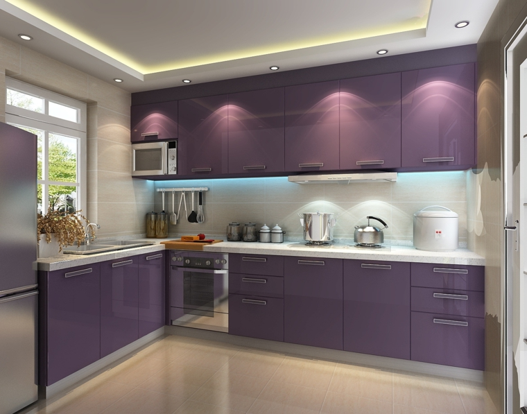 L Small Shaped Kitchen Pictures