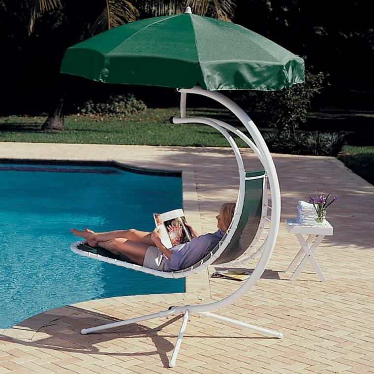 Chaise Longue Suspendue Et Fauteuil Relax