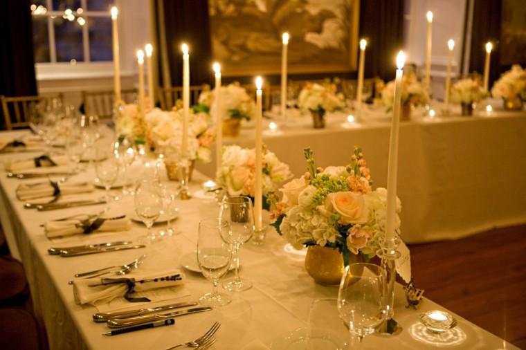 decoration de table pour mariage forme u