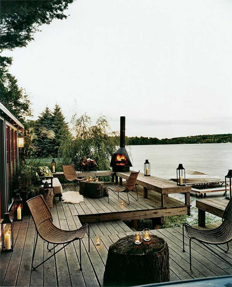 amenagement terrasse exterieur pour l hiver amenagement terrasse exterieur bois