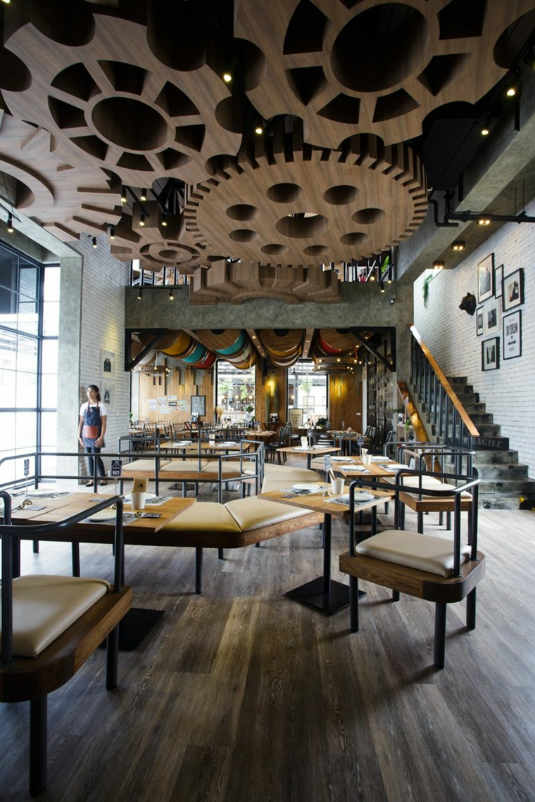 Faux Plafond Design Voyage Dans 16 Restaurants Internationaux