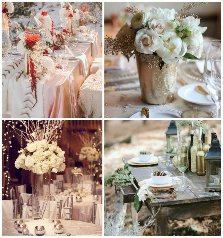 Dcoration Table Mariage 50 Ides Pour Le Mariage En Hiver