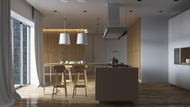 Meuble Sparation Cuisine Salon En Plus De 55 Ides