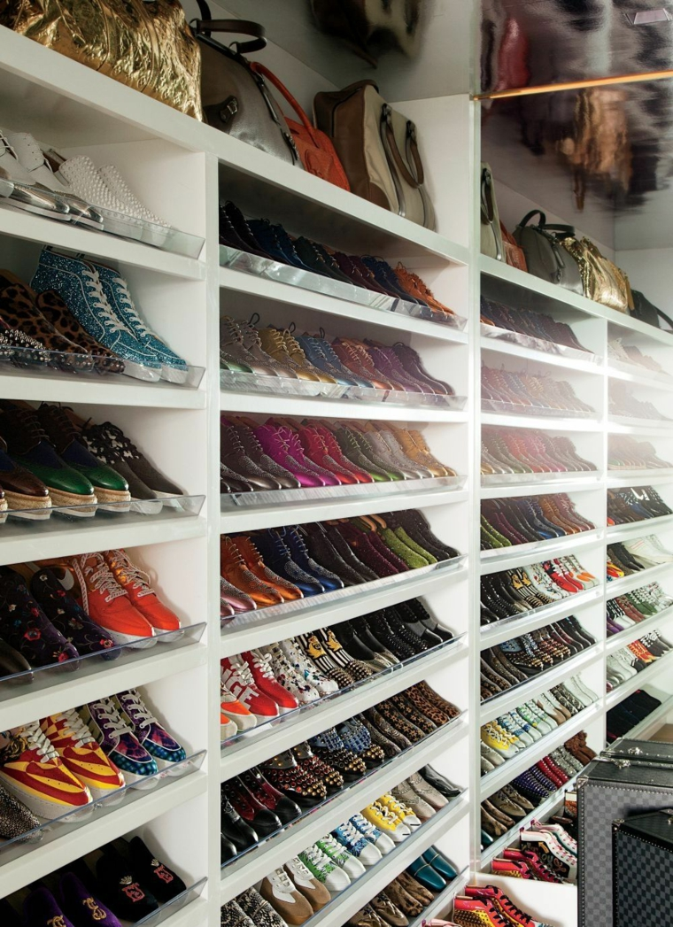 rangement chaussures idees pour