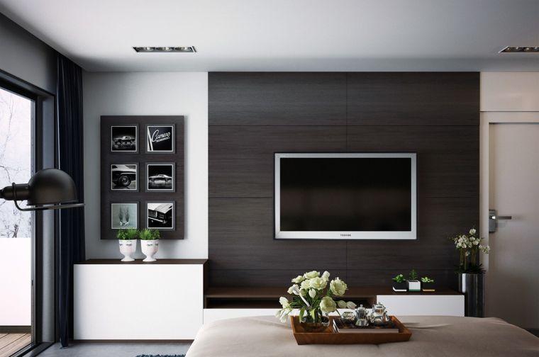 Chambre Contemporaine 33 Ides Dco Murale Design