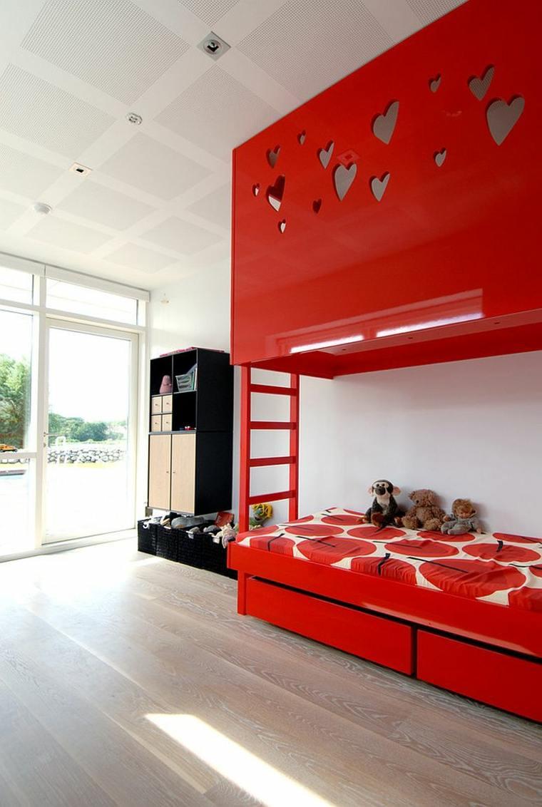 Chambre Enfant Rouge En 46 Ides Dco Modernes