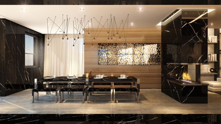 Maison Luxe Intrieurs Design Chic Et Raffins