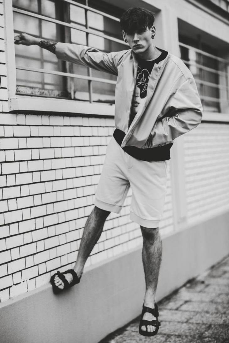 tendance homme mode shorts tendance veste